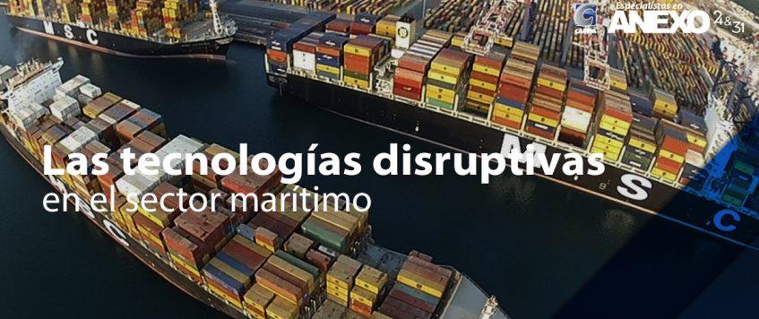 Las tecnologías disruptivas en el sector marítimo