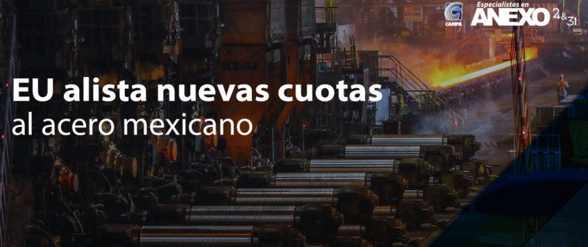 EU alista nuevas cuotas al acero mexicano