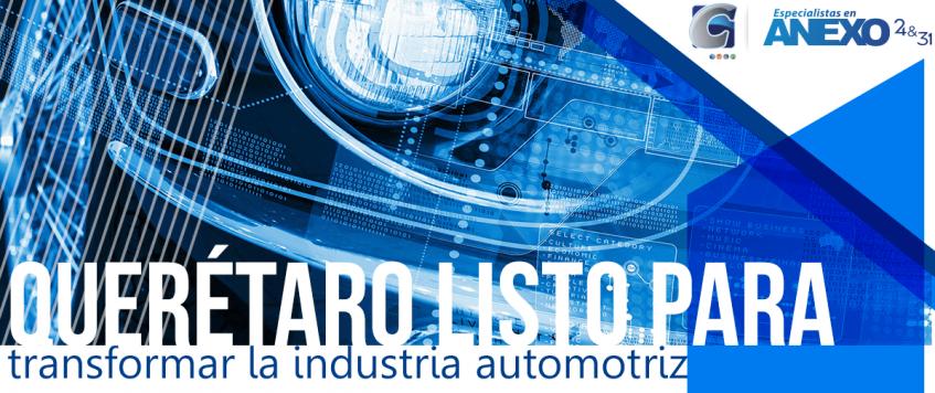 Querétaro está listo para transformar la industria automotriz