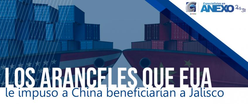 Los aranceles que Estados Unidos le impuso a productos tecnológicos de China beneficiarían a Jalisco, donde se manufacturan algunos de esos artículos.