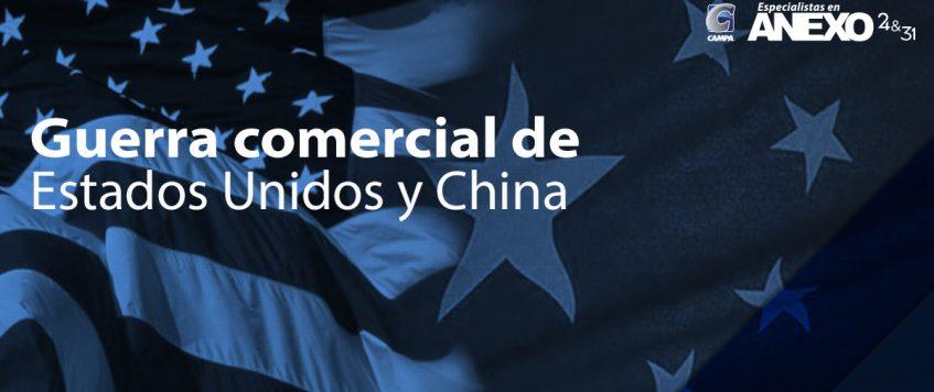 Guerra comercial de Estados Unidos y China