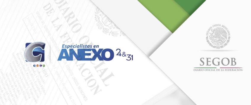 El DOF publica, los nombres de los titulares y números de Programa IMMEX, suspendidos.