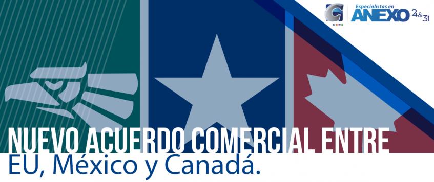 Nuevo acuerdo comercial entre EU, México y Canadá  USMCA se firmaría el 29 de noviembre