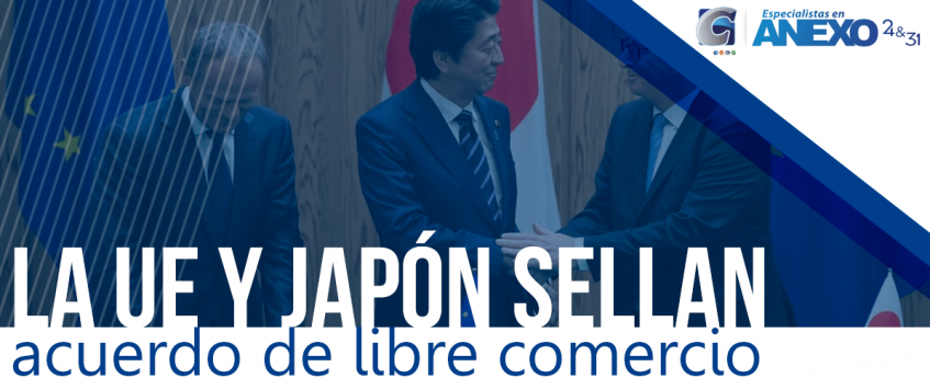 La UE y Japón sellan, acuerdo de Libre Comercio