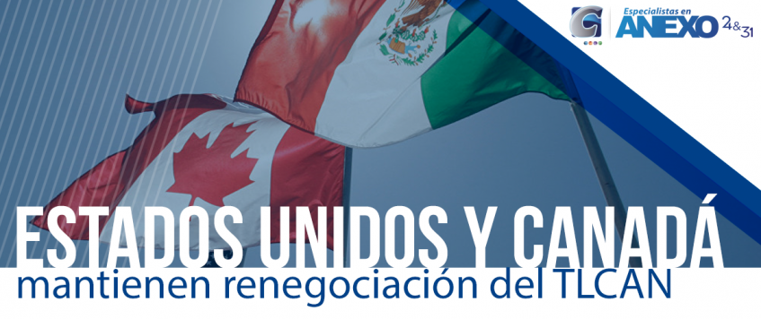 México espera acuerdo del TLCAN entre EU y Canadá el viernes