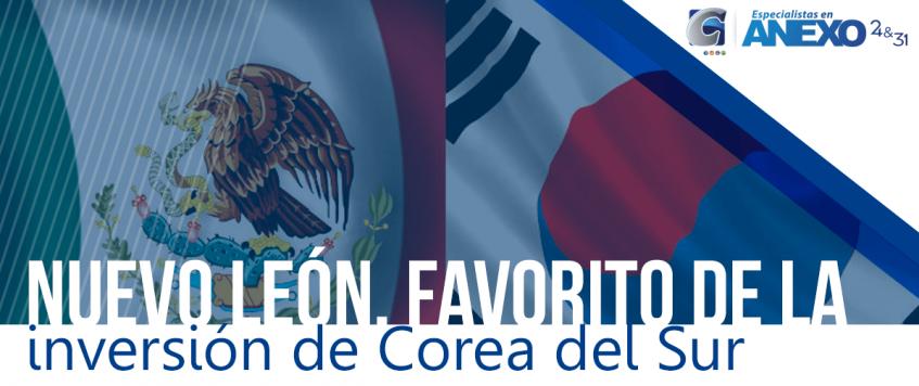 Nuevo León, favorito de la inversión de Corea del Sur