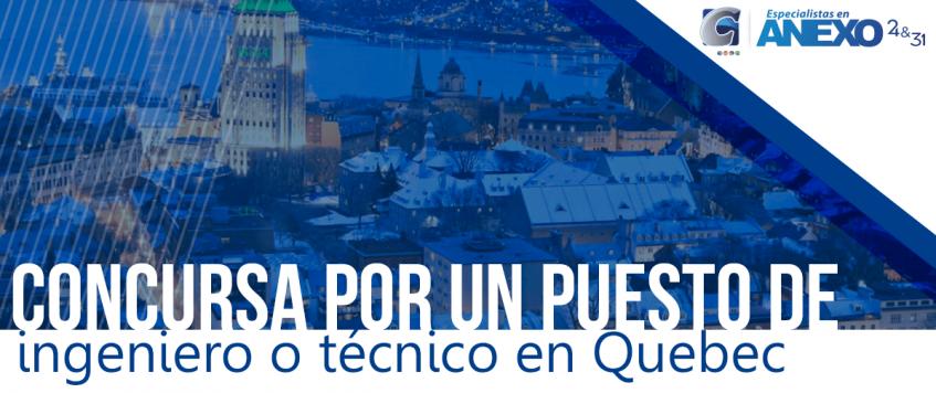 Un grupo de 22 empresas de Quebec, Canadá, desean cubrir 500 puestos vacantes con trabajadores extranjeros