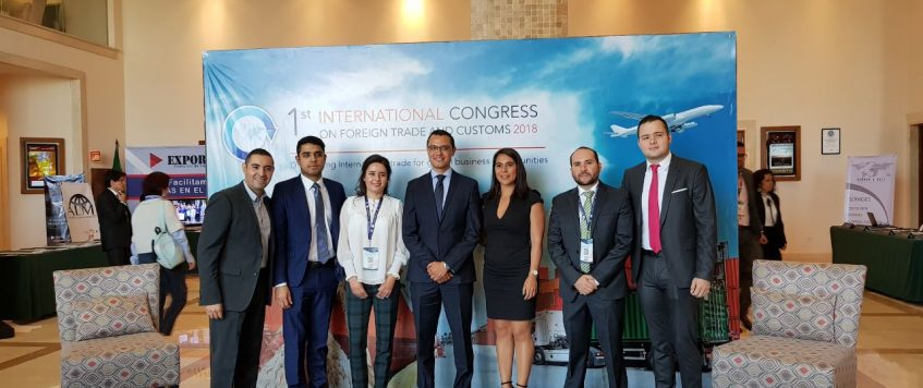 1st International Congress on Foreign Trade and Customs 2018.