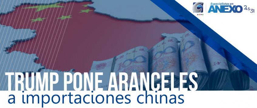 Trump cumple su advertencia: pone aranceles a importaciones chinas