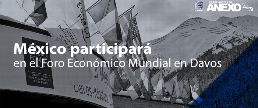 Delegación Mexicana participará en el Foro Económico Mundial en Davos, Suiza