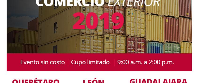 Conferencia Comercio Exterior 2019 – Querétaro